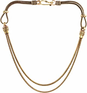Indian Vintage Retro Ethnic Gypsy Oxidized Tone Boho Necklace Jewellery for Girls and Women Gift for Her