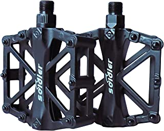 ProHomer Bicycle Pedals, Bicycle Cycling Bike Pedals 9/16 Inch With Sealed Anti-Slip Durable, For Universal BMX Mountain B...