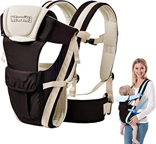 Soft Baby Carrier, Baby Carrier Bag for 0 to 2 Year Baby   Baby Carrier Bag   Adjustable Baby Carrier Bag   4 in 1 Carry O...