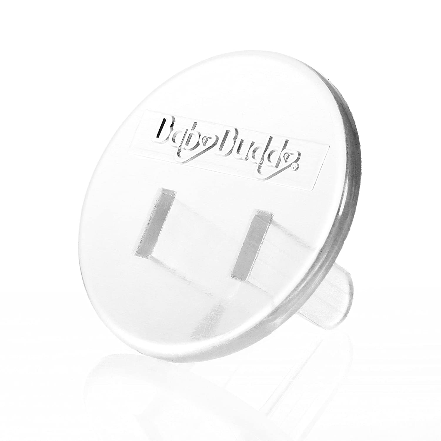 Baby Buddy Outlet Plugs, Clear, 24-Count