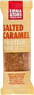 Emma and Tom's Salted Caramel Vegan Protein Bar 35 g x 12