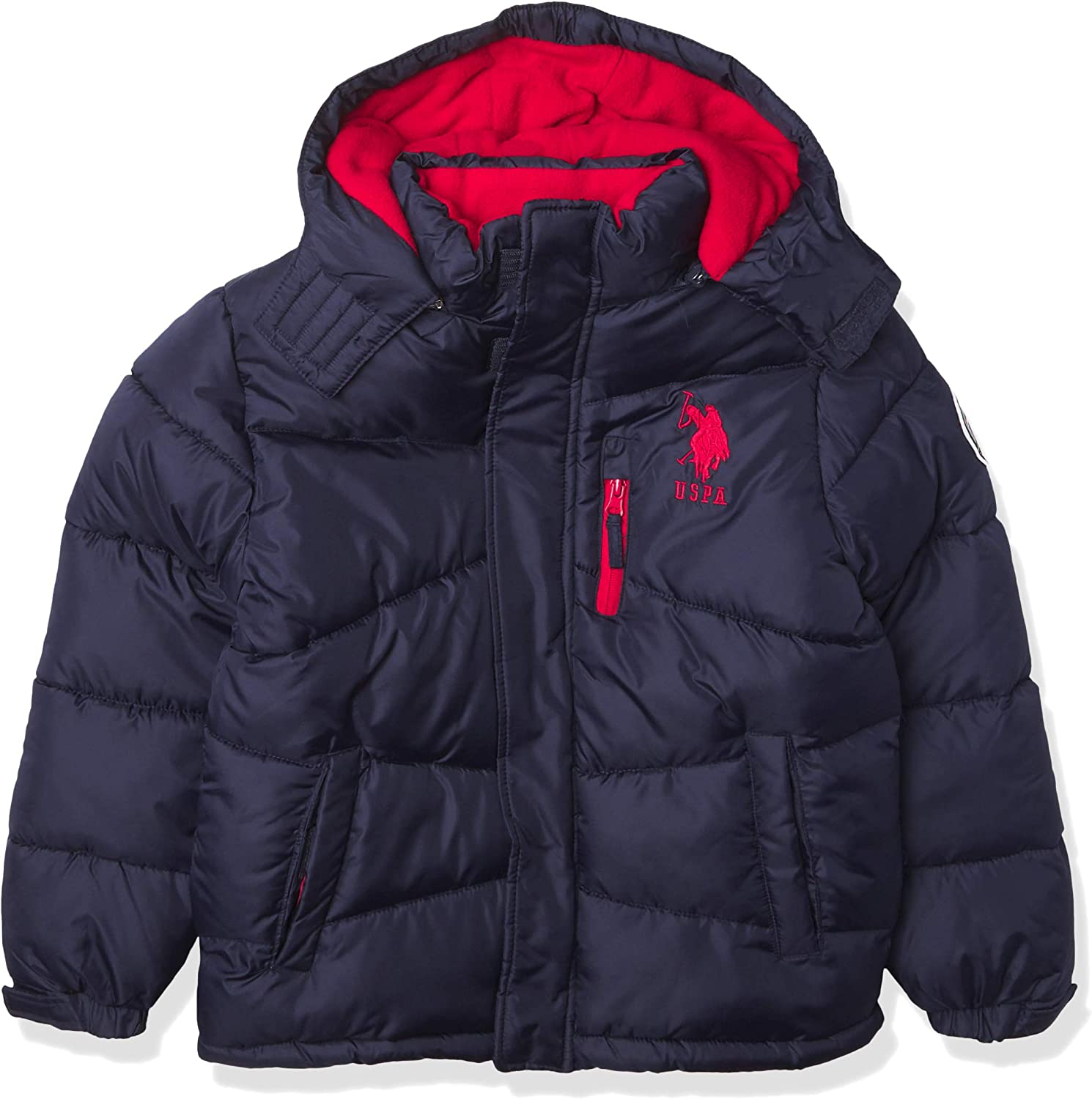 Cash special price U.S. Polo Assn. Puffer Boys' Max 88% OFF