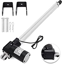 Mophorn Linear Actuator 16 Inch Stroke12V DC Electric Actuator with Mounting Bracket 6000N/1320LB Heavy Duty for Recliner TV Table Lift Massage Bed Electric Sofa
