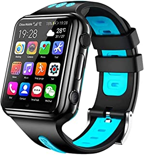 4G Kids Smart Watch Phone for Boys Girls, IP67 Waterproof Watches with GPS Tracker, Dual Cameras, 2 Way Call, SOS, Alarm C...