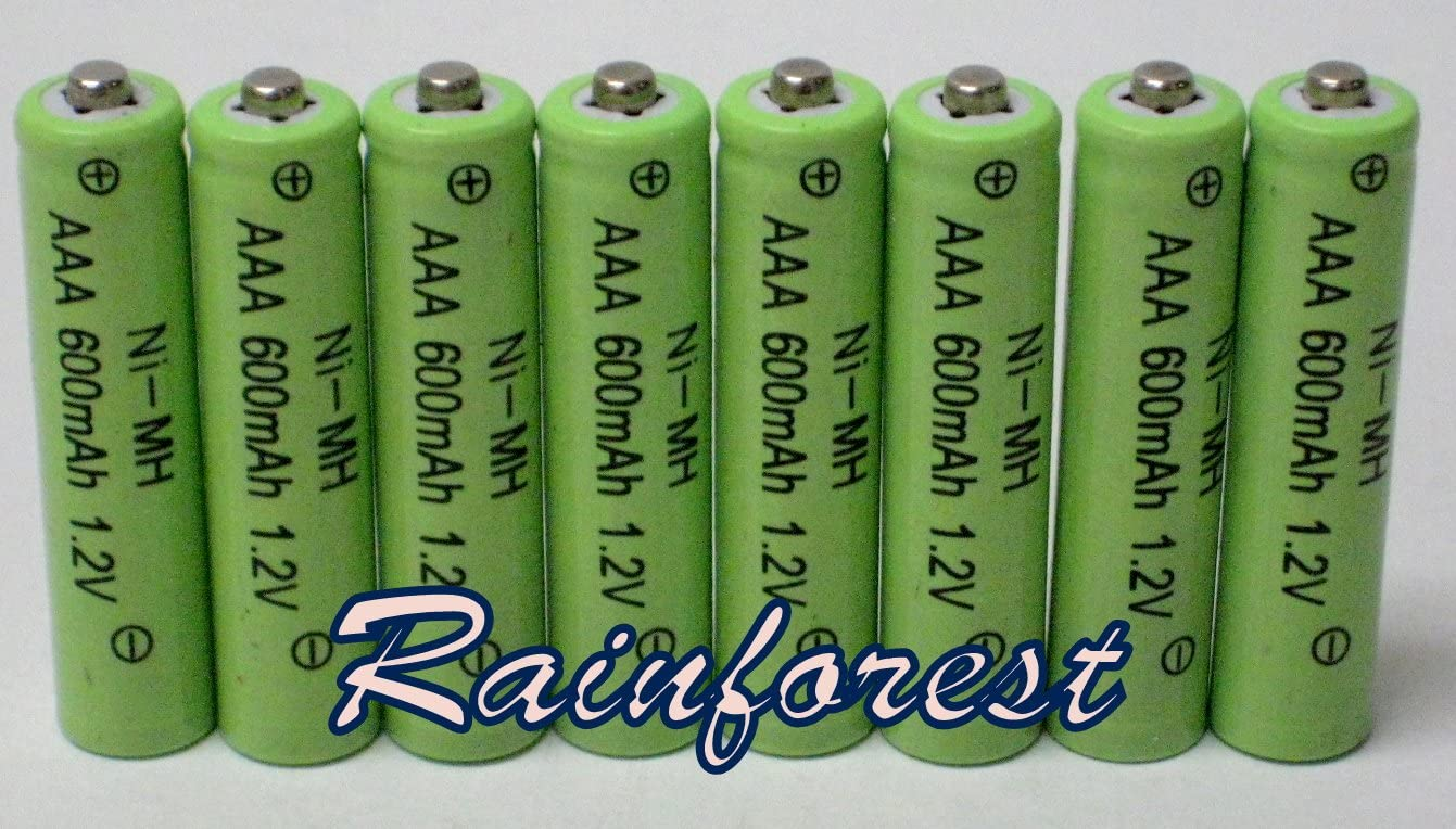8 Piece Set AAA Ni-mh Selling rankings 600mah 1.2v for Rechargeable Discount is also underway Batteries Sol