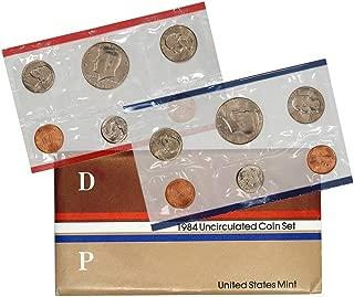 1984 P & D United States US Mint Set