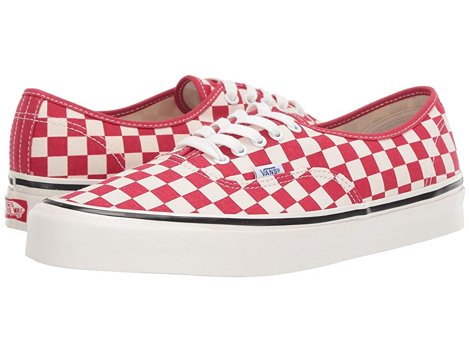 8a4a00b63baf Vans Authentic 44 DX ((Anaheim Factory) OG Red Check) Athletic Shoes