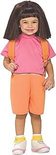 Rubies Dora The Explorer F Child Wig, Multicolor, One Size