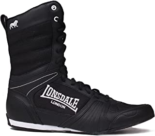Lonsdale Mens Contender Boxing Boots Full Shoes Trainers