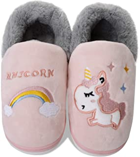 Zapatillas de Estar por Casa para Niños Niñas Invierno Zapatillas Interior Casa Caliente Pantuflas Lindas Zapatillas De An...