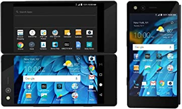 ZTE Axon M Z999 Unlocked GSM Smartphone w/ 20MP Camera and Foldable Dual Screens (for Multi-Tasking) - Carbon Black