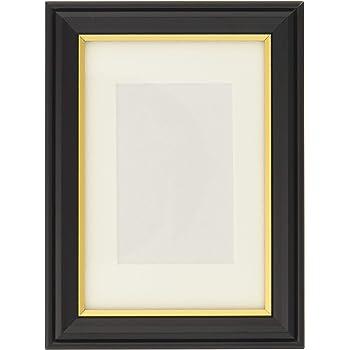 KING 額縁 肖像額 L 木製 ブラック 716651