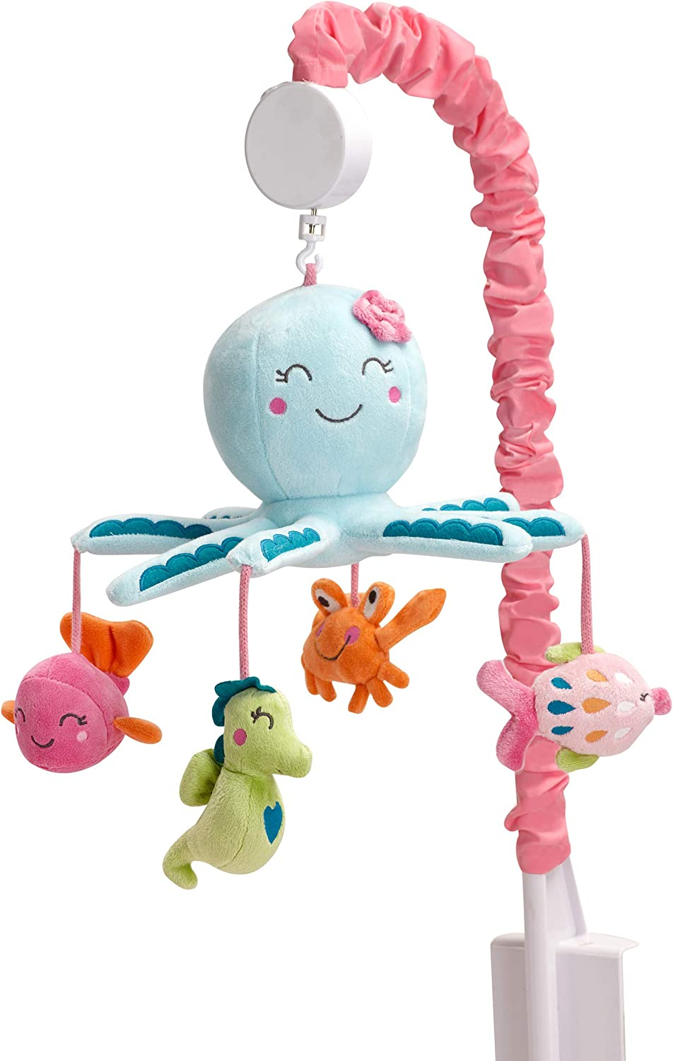 Carter's Sea Collection Musical Mobile, Pink bluee Turquoise