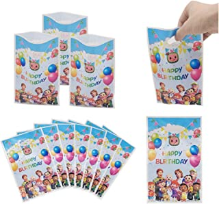 30pcs Cocomelon Family Party Gift Bags, Cocomelon Gift Bags, Cocomelon Party Supplies, Children's Plastic Candy Snack Bag...