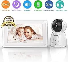 BIGASUO Upgrade Baby Monitor, Video Baby Monitor 7