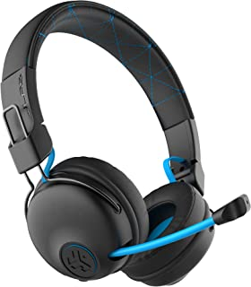 JLab Audio Play Gaming Wireless Headset | 22+ Hour Bluetooth 5 Playtime 60ms Super-Low Latency for Mobile Gameplay | Retra...