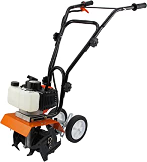 T-Mech Mini caña Motor Cultivador 52cc Gas Gasolina Jardín Rotovator Césped   CE certificación PPE