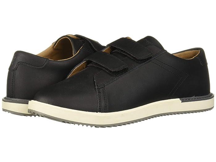 Hush Puppies Kids  Heath Sneaker HL (Little Kid/Big Kid) (Black) Boys Shoes