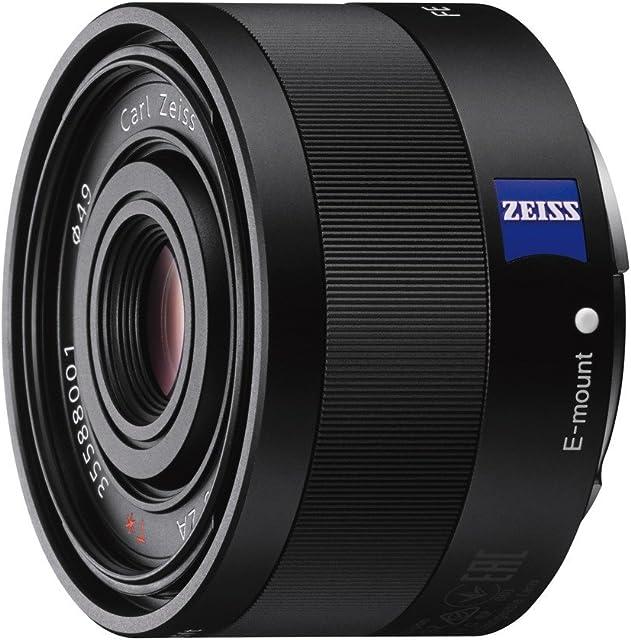 Sony SEL35F28Z - Objetivo para Sony E (Distancia Focal Fija 35mm Apertura f/2.8-22 estabilizador) Negro