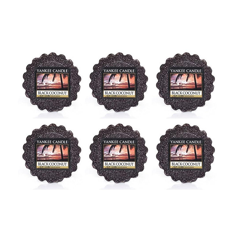 筋肉のテクスチャーアナロジーYankee Candle Lot of 6ブラックCoconut TartsワックスMelts