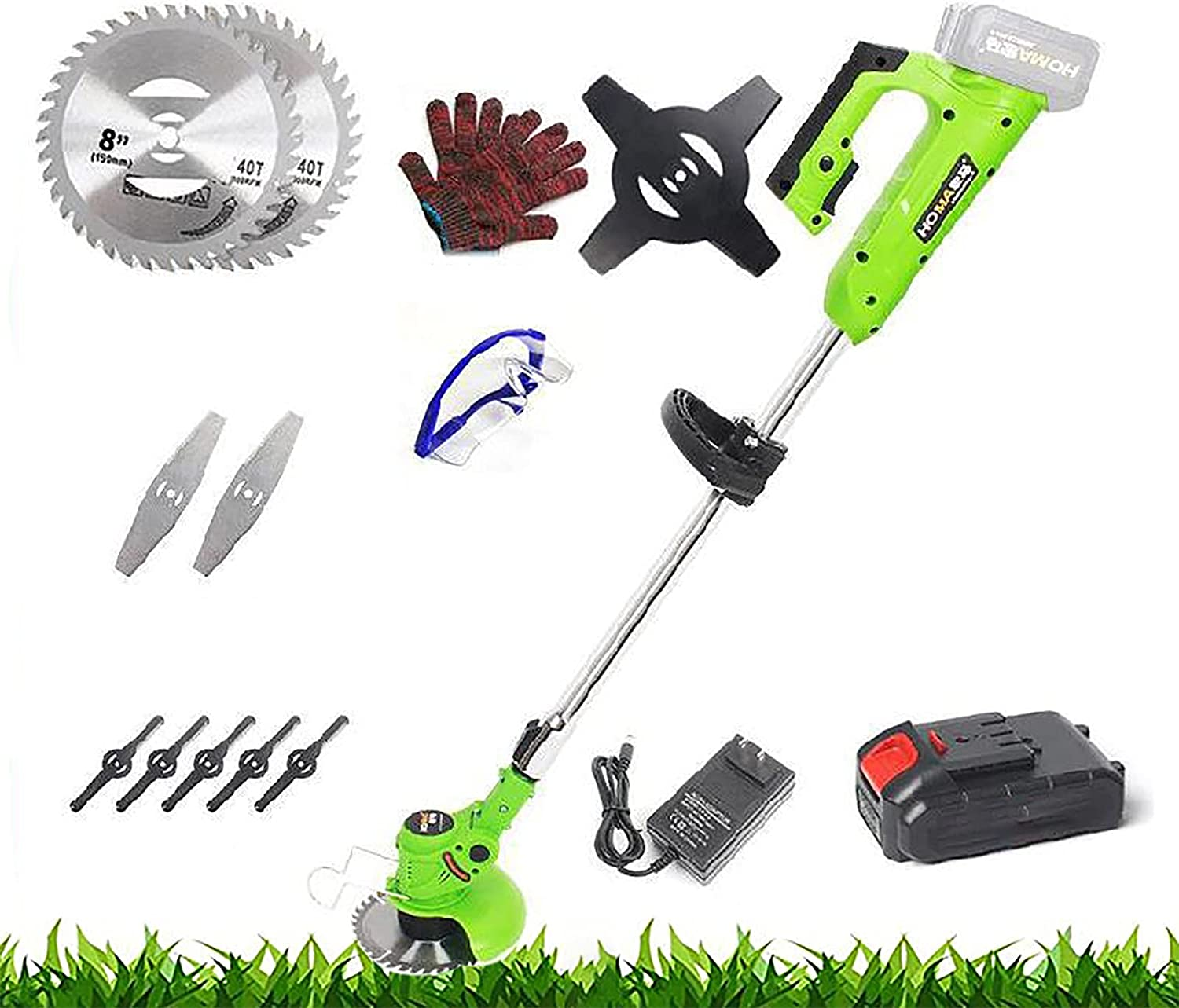FFSH Cordless Lawn Trimmer Cutting Clearance SALE Limited time Easy 3cm Width Max 67% OFF to Use