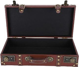 Valise à Main rétro, boîte de Rangement de Style Ancien, Accessoires de Photographie durables en Bois de Grande capacité p...