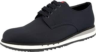 Prada Men's 4E2502 71L F0008 Fabric Lace-up Shoes