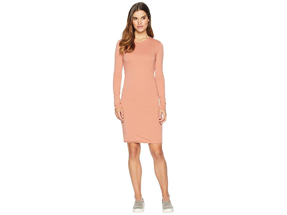 Hurley Dri-FIT Long Sleeve Dress (Terra Blush) Women