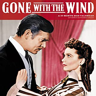 2018 Gone With the Wind Wall Calendar (Day Dream)