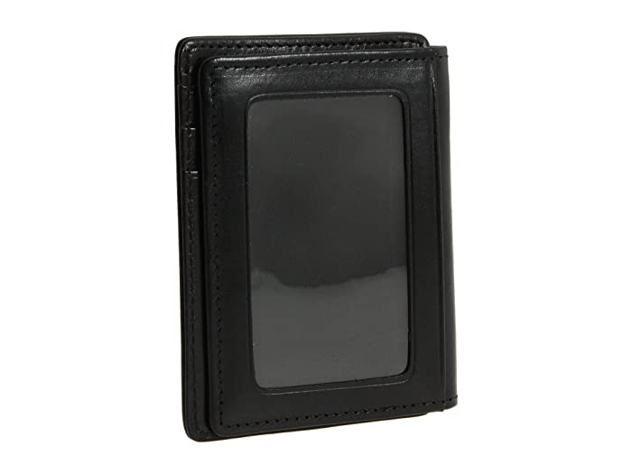 Bosca  Old Leather Collection - Front Pocket Wallet (Black Leather) Bill-fold Wallet