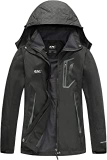 Women's Stretch Denim Jacket Womens Lightweight Quilted Zip Jacket (S-3XL) Womens Rain Jacket Waterproof with Hood Lightweight Hiking Jacket