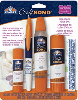 Elmer's CraftBond Scrapbook Glue Set, 4 Piece Set