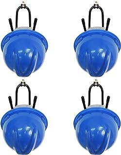 YYST Hard Hat Rack Hard Hat Holder Storage Hanger - No Hard Hat -4/PK-Screws Included