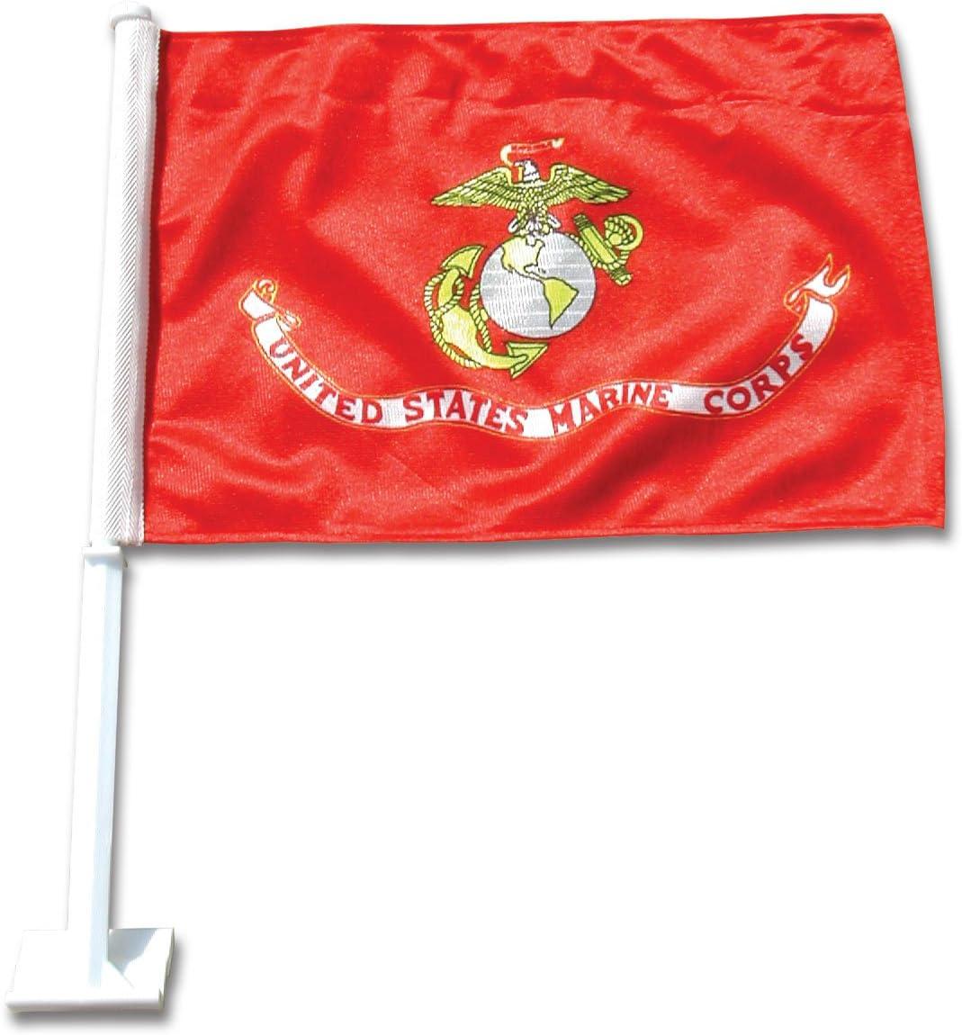 Online Stores US Save money Dedication Marine Flag Car Corps