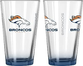 Boelter NFL Elite Pint Glass Set (Pack of 2), 16-Ounce