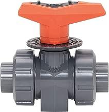 GF Signet 161-323-551 PVC Metering Ball Valve, 3/8