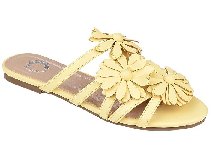 Vintage Sandals | Wedges, Espadrilles – 30s, 40s, 50s, 60s, 70s Journee Collection Dolliah Slide Womens Shoes $54.99 AT vintagedancer.com