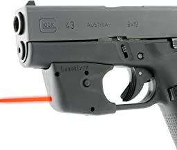 LASERLYTE Laser Sight Trainer for GLOCK 42 43 26 27.  LASER DOT for fast aim. LASER TRAINER for firearm training.   PUSH BUTTON activation for simple use.  AUTO-OFF to save battery life. UPGRADED adjustment screws for fast sight in.