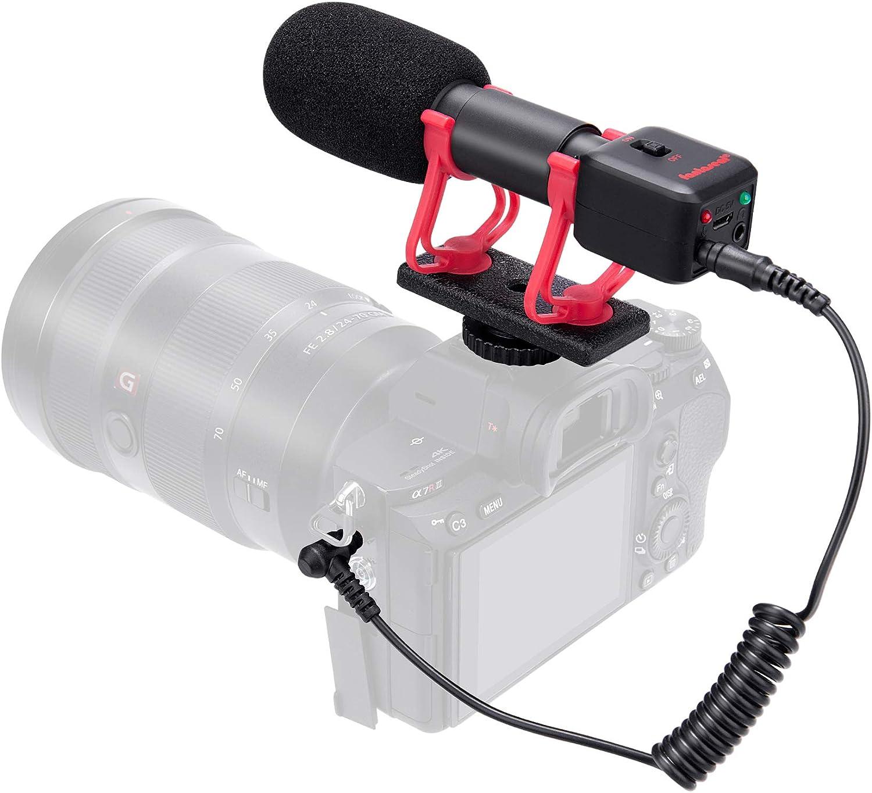Professional Studio Realtime Austin Mall 5% OFF Monitor Video Micropho Shotgun Mini