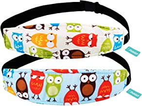 2 Packs Toddler Car Seat Neck Relief and Head Support, Pillow Support Head Band Easy..