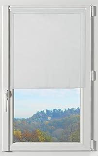 Lovely Casa RA21290001 Lisa Pair Cotton Half Curtain 60 x 120 cm White