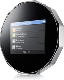 SecuX V20 - 最も安全な暗号ハードウェアウォレット Bluetooth付き - クロスプラットフォーム - ビットコイン、イーサリアム、ERC-20、リップル、BTC、ETH、LTC、BCH、DGB、DGB、ダッシュ、BNB、Doge...