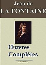 Jean de La Fontaine : Oeuvres complètes illustrées | Les 425 fables de La Fontaine, contes et pièces de théâtre: Nouvelle ...