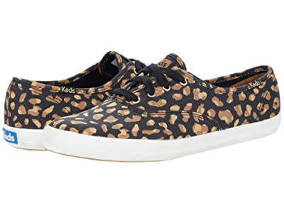 Keds Champion Animal (Black/Tan) Women