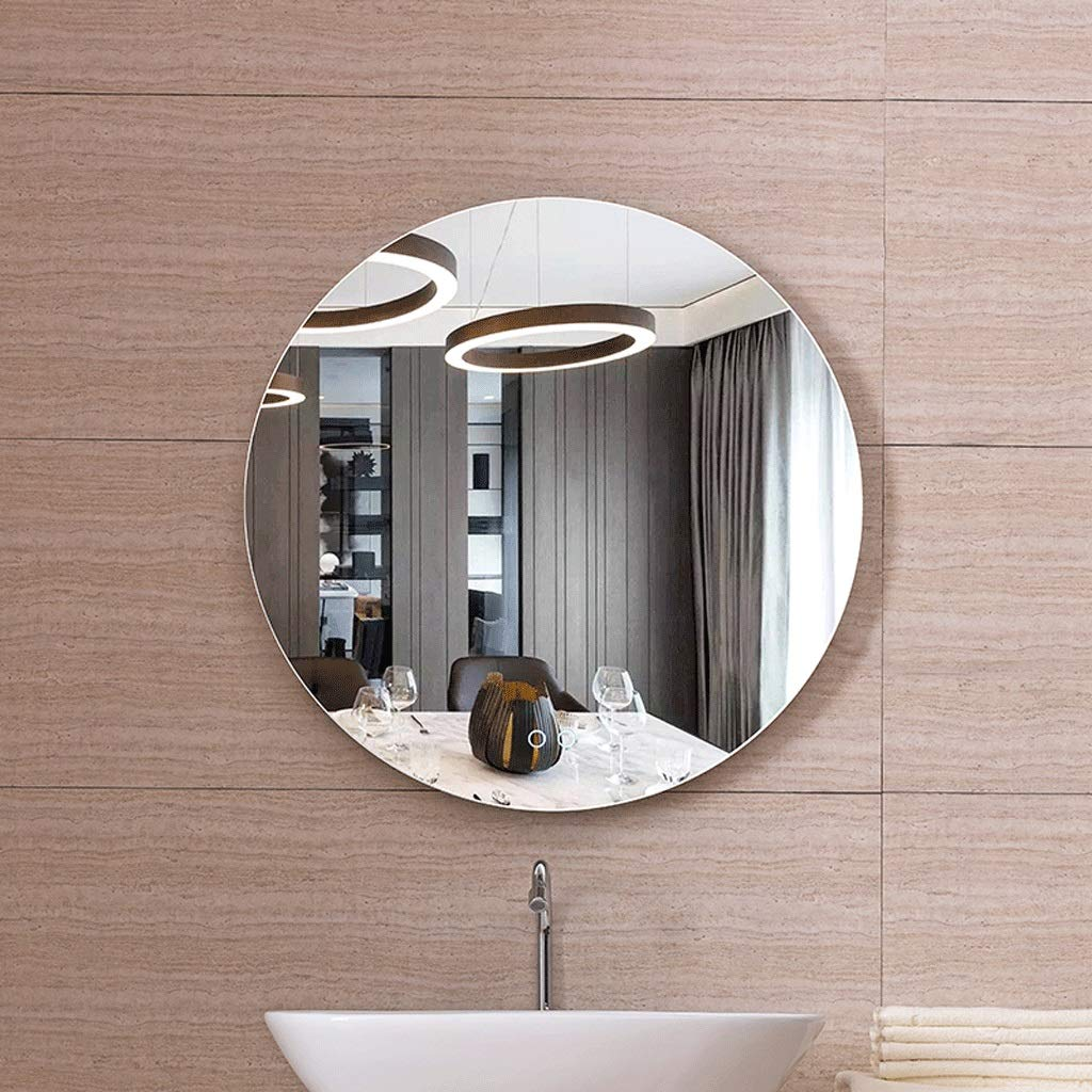 Miroir de salle de bain intelligent - LED blanche - Miroir simple