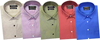 TANGY Combo Pack of 5 Mens Full Shirt