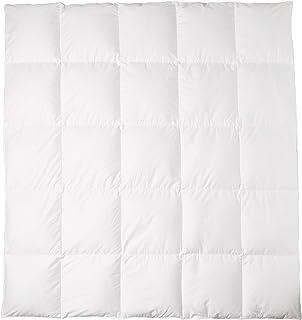 Amazon Basics Couette en duvet d'oie de qualité supérieure - Chaude, 240 x 220 cm
