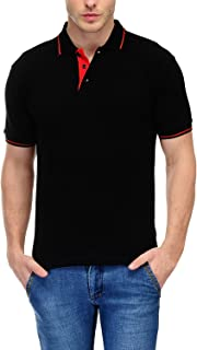 Scott Men's Organic Cotton Polo T-Shirt - Black - sp7-ORGCl