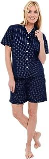 women's woven cotton pajama sets