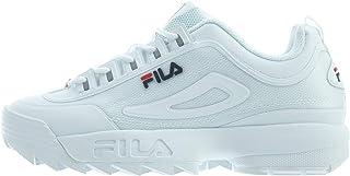 Détails sur Fila D Formation Noir Blanc Hommes Chaussures 1CM00489 120 afficher le titre d'origine